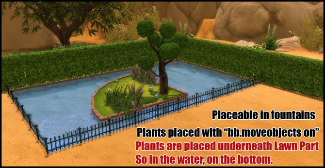 Unlocked Lawn Parts (12 parts) by Bakie at Mod The Sims image 3413 Sims 4 Updates