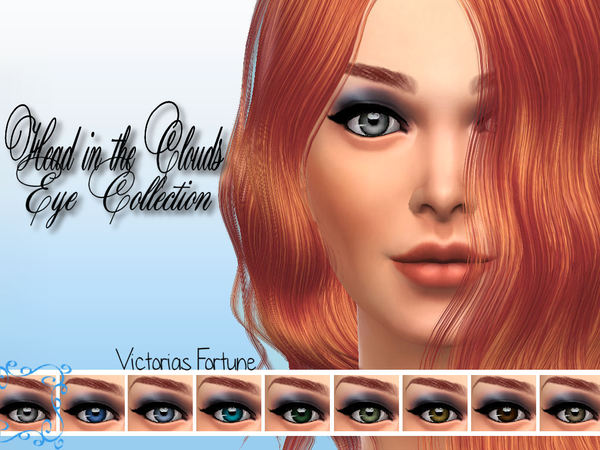 Sims 4 Head in the Clouds Eyes by fortunecookie1 at TSR
