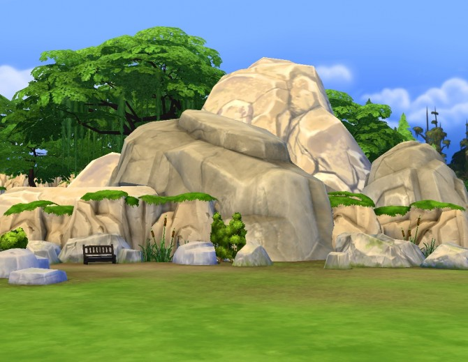 Liberated Rocks 2 By Plasticbox At Mod The Sims 187 Sims 4