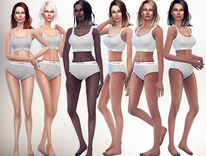 Sims 4 Memory Skin at S4 Models