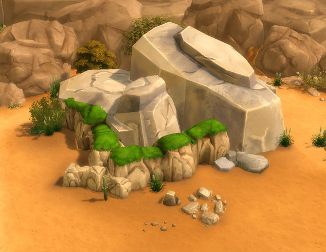 Liberated Rocks 2 by plasticbox at Mod The Sims image 373 670x519 Sims 4 Updates
