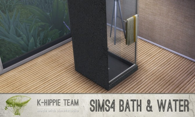 Sims 4 7 shower recolors Bath & Water at K hippie