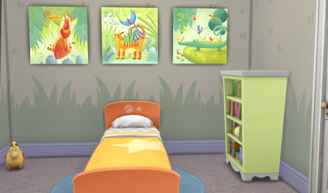Jungle posters by Fuyaya at Sims Artists image 398 Sims 4 Updates