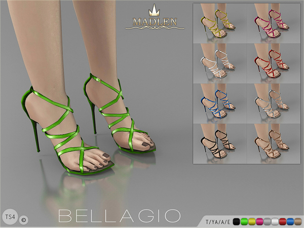 Madlen Bellagio Shoes by MJ95 at TSR image 4105 Sims 4 Updates