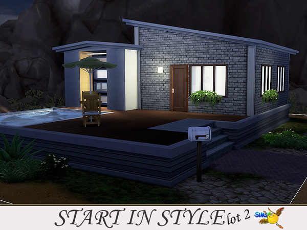 Start in Style lot 2 by evi at TSR image 417 Sims 4 Updates