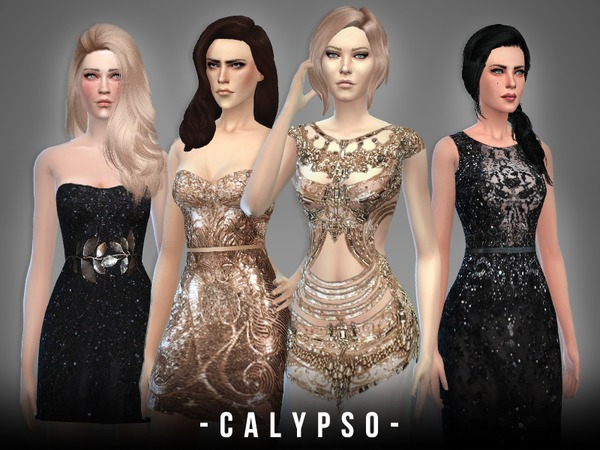 Sims 4 Calypso Collection by April at TSR
