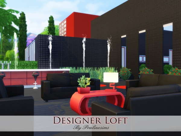 Designer Loft by Pralinesims at TSR image 4219 Sims 4 Updates