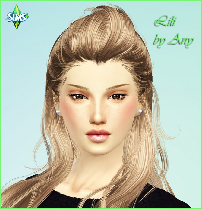 Lili by Any at Sims Modeli image 4227 Sims 4 Updates