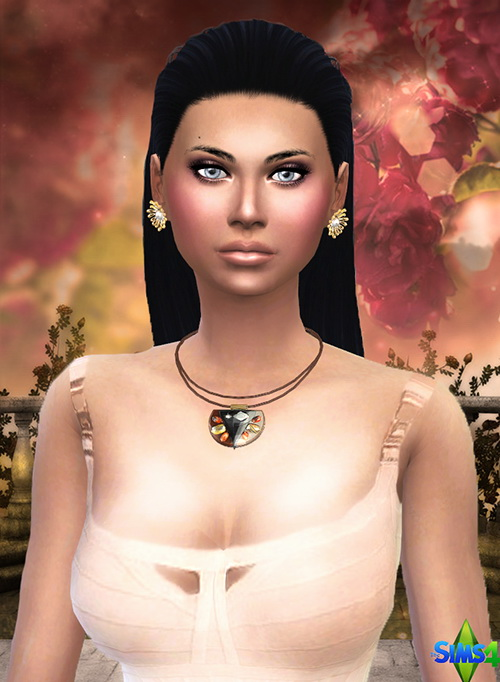 Sims 4 Lisa Marie MARTINE by Mich Utopia at Sims 4 Passions
