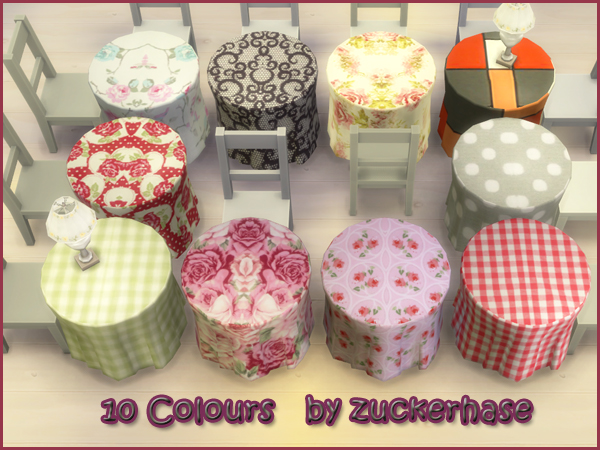 Sims 4 Modern Table by Zuckerhase at Akisima