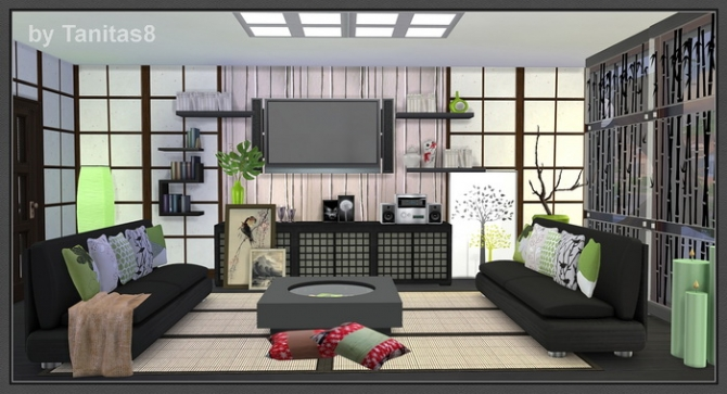 Asian House At Tanitas8 Sims 187 Sims 4 Updates