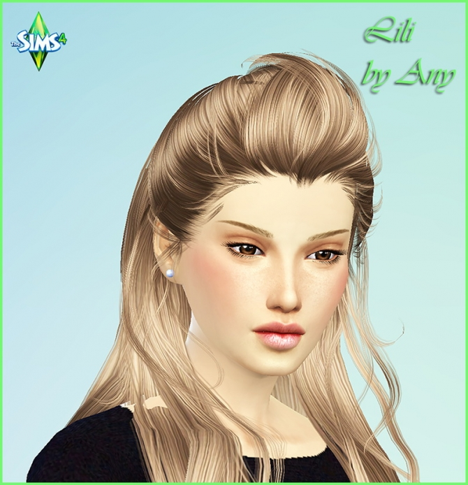 Lili by Any at Sims Modeli image 4325 Sims 4 Updates