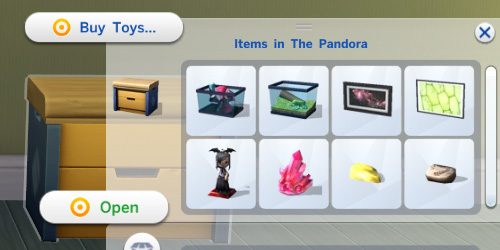 Sims 4 Toy Box Stores Collectibles by egureh at Mod The Sims