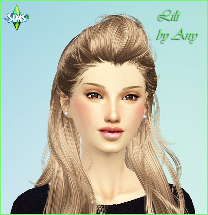 Lili by Any at Sims Modeli image 4425 Sims 4 Updates