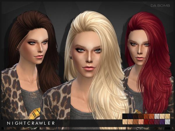 Da Bomb hair by Nightcrawler at TSR image 45 Sims 4 Updates