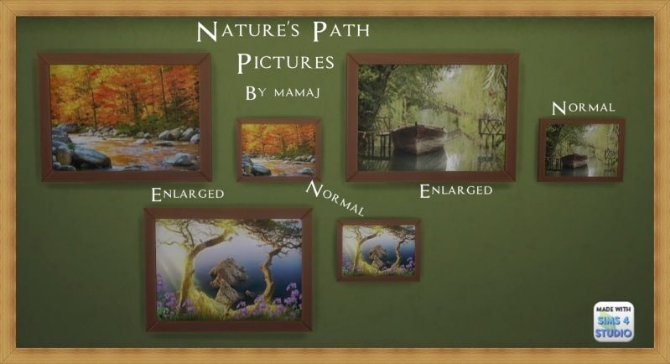 Sims 4 Natures Path pictures by mamaj at Simtech Sims4