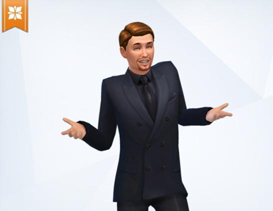 Sims 4 Leonardo DiCaprio by Sim4fun at Sims Fans