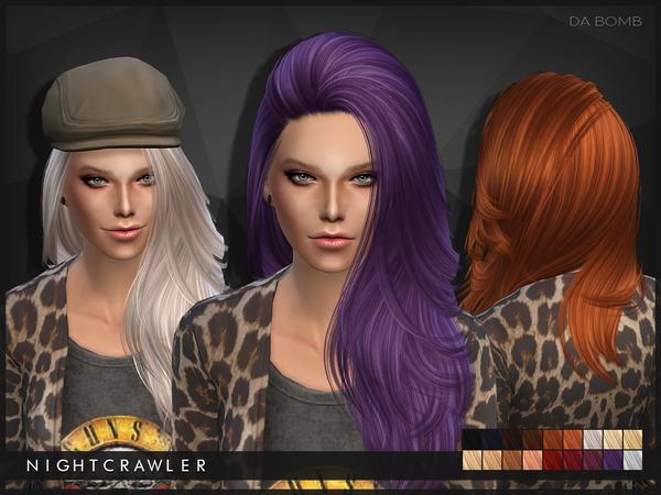 Da Bomb hair by Nightcrawler at TSR image 46 Sims 4 Updates