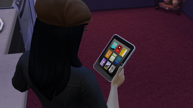 Sims 4 EA Slablet Recoloured by hydramordor at Mod The Sims