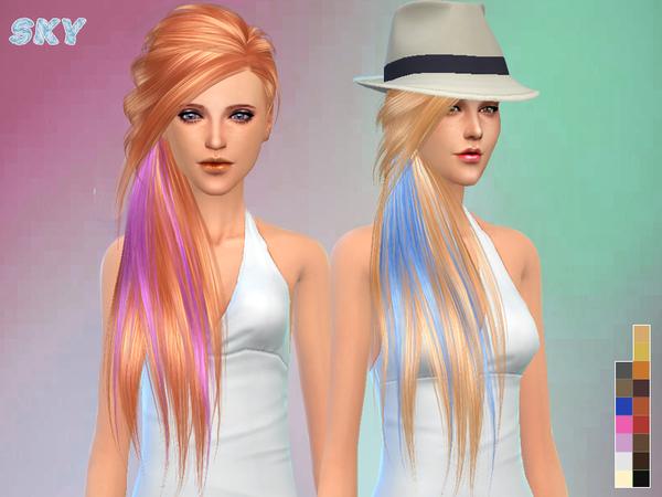 Sims 4 Hair 253 by Skysims at TSR
