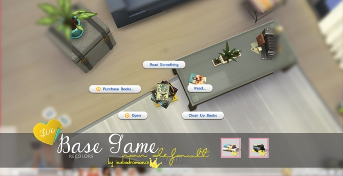 Readable books at In a bad Romance image 5221 Sims 4 Updates
