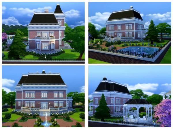 Staunton house by Christina51 at TSR image 5311 Sims 4 Updates