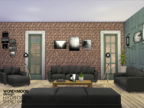 Hydrogen Living by wondymoon at TSR image 5316 Sims 4 Updates