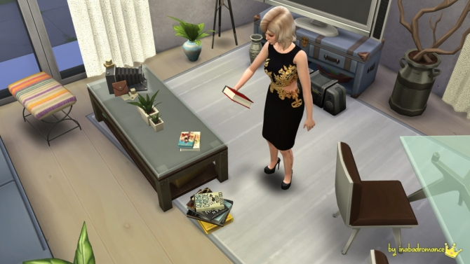 Sims 4 Readable books at In a bad Romance