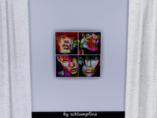 Sims 4 Art Paintings by schlumpfina at My Fabulous Sims