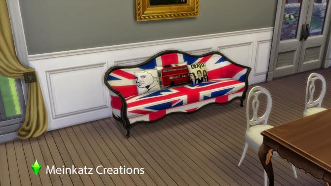 City Sofa at Meinkatz Creations image 539 Sims 4 Updates