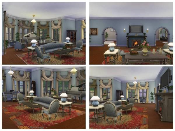 Staunton house by Christina51 at TSR image 5411 Sims 4 Updates