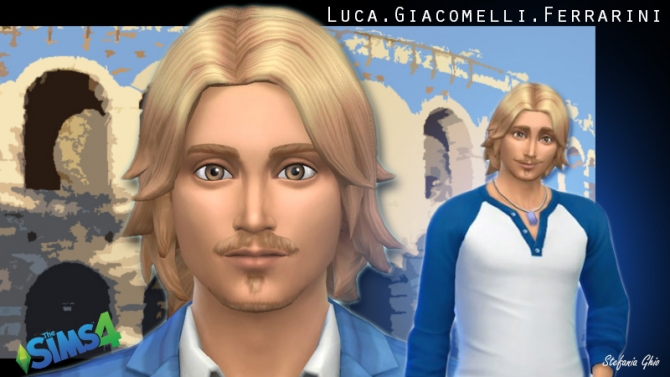 Sims 4 Luca Giacomelli by St3fania91 at The Sims Lover