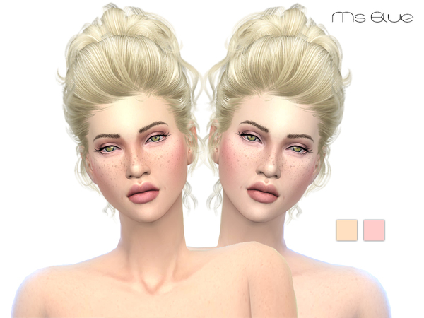 Sims 4 Skintone Set V1 by Ms Blue at TSR