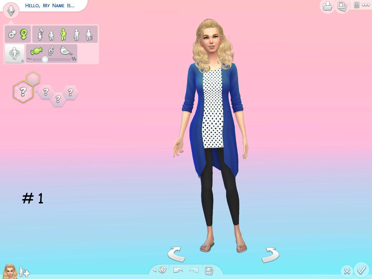 3 Gradient CAS Screens by christmas fear at Mod The Sims ...