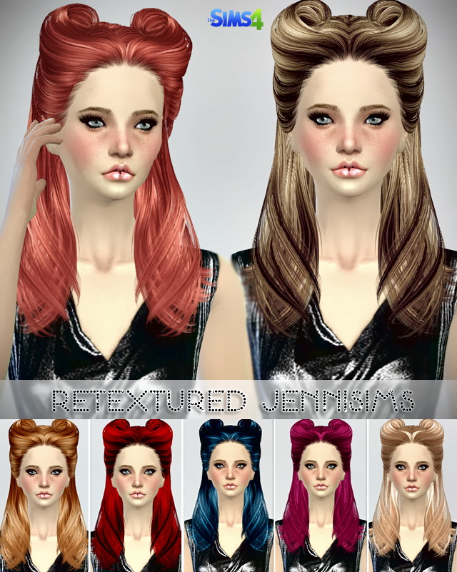 B fly Sims 082,085 hair retextures at Jenni Sims image 568 Sims 4 Updates