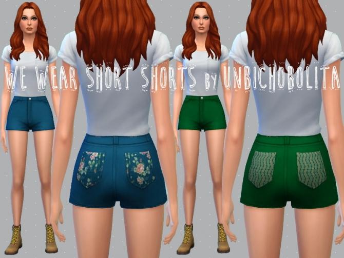 Shorts recolors at Un bichobolita image 5712 Sims 4 Updates