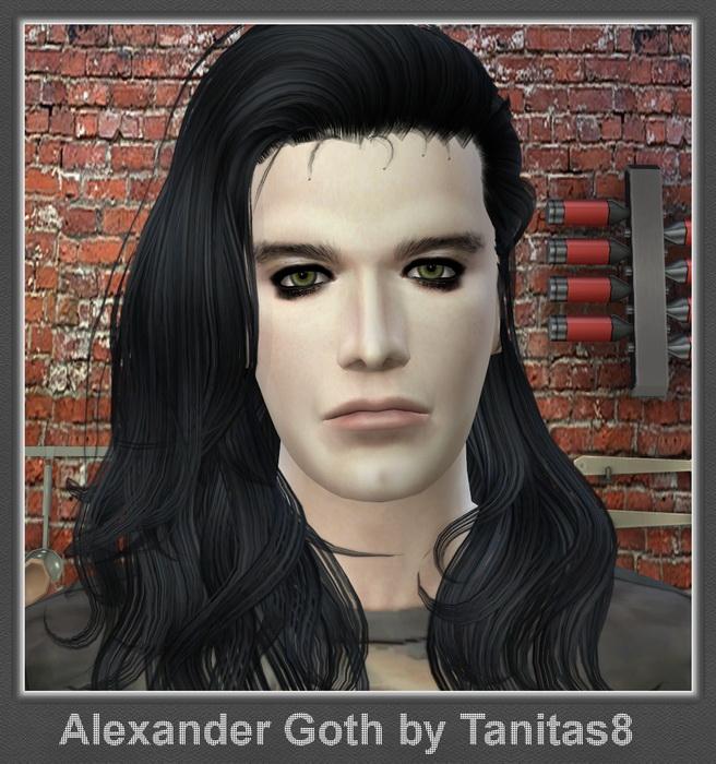 Sims 4 Alexander Goth at Tanitas8 Sims
