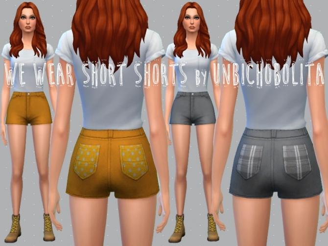 Shorts recolors at Un bichobolita image 5812 Sims 4 Updates