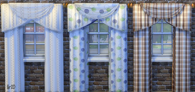 Curtains by Oldbox at All 4 Sims image 5813 Sims 4 Updates