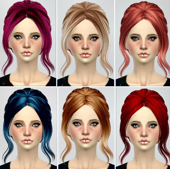 B fly Sims 082,085 hair retextures at Jenni Sims image 5910 Sims 4 Updates