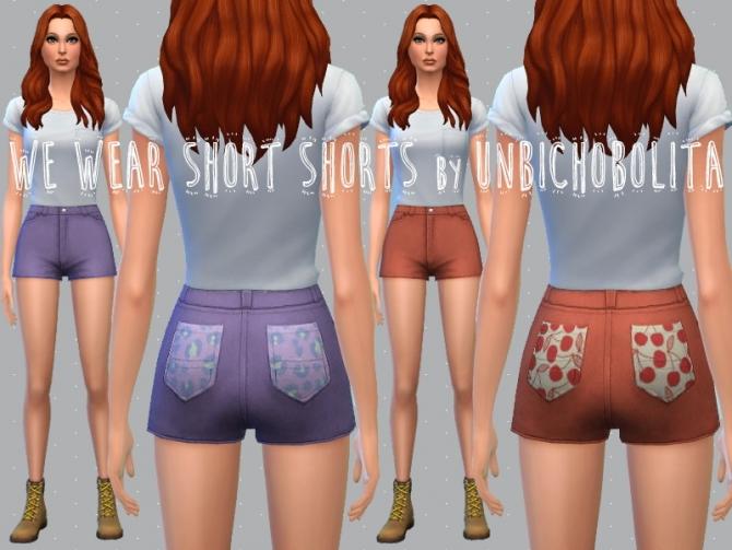 Shorts recolors at Un bichobolita image 5914 Sims 4 Updates