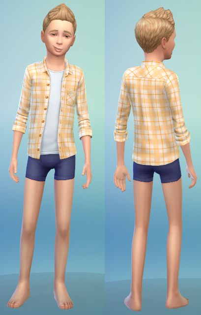 7 x kids clothing by bienchen at Sim2me » Sims 4 Updates