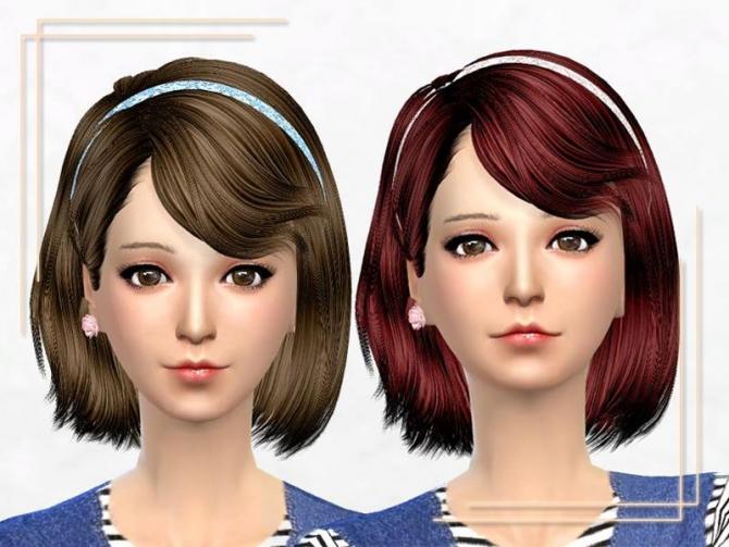 ELA 46F & Newsea J086 Stranger Retexture at Sakura Phan image 6020 Sims 4 Updates