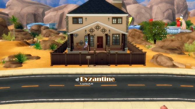 Sims 4 Byzantine house by Czarina27 at Mod The Sims