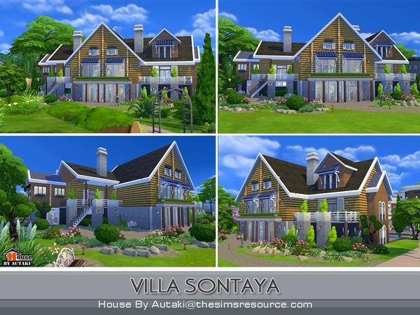 Sims 4 Villa Sontaya by autaki at TSR