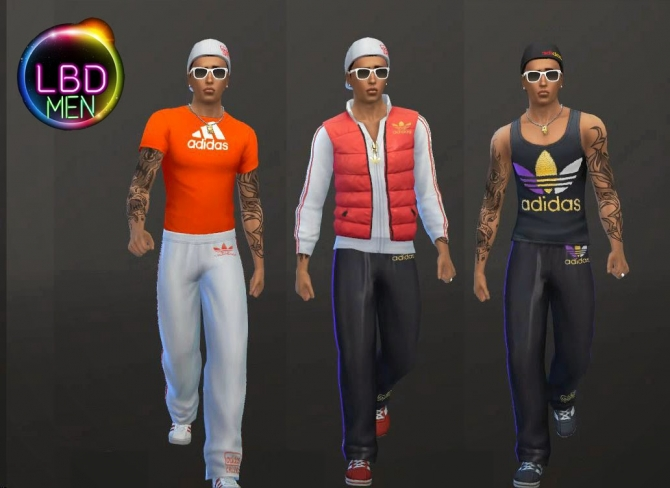 Sims 4 Sportswear collection by jeancr874 at La Boutique de Jean