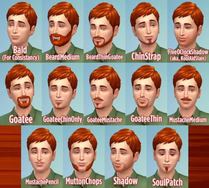 Ginger all male hairs by Caitie at Mod The Sims image 6513 Sims 4 Updates