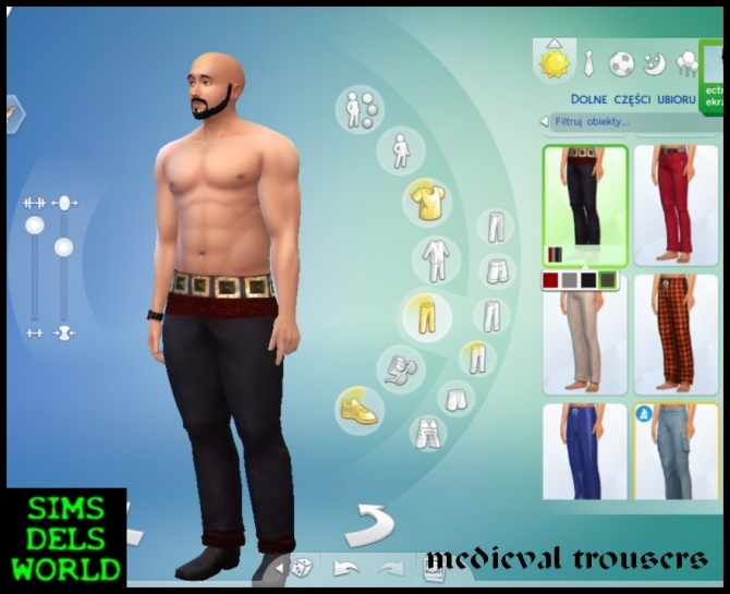 Medieval trousers and top at SimsDelsWorld image 6517 Sims 4 Updates