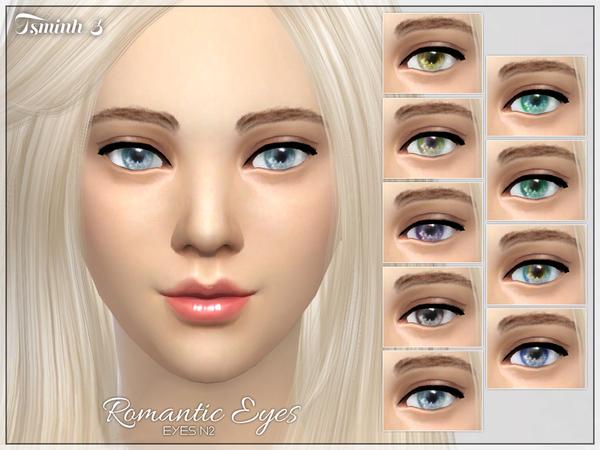 Sims 4 Romantic Eyes by tsminh 3 at TSR