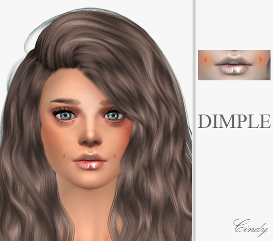 Sweet dimple at CCTS4 image 6821 Sims 4 Updates